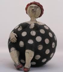 May the Arend Ceramics Keramische Skulpturen und Kunst von May den Arend # Paper Mache Sculpture, Sculptures Céramiques, Sculpture Art, Ceramic Sculptures, Ceramic Painting, Ceramic Art, Ceramic Pinch Pots, Pottery Handbuilding, 3d Figures