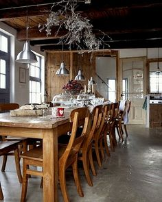 WABI SABI Scandinavia - one of Sweden's largest ad free design blogs.: Natural Christmas Kitchen