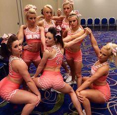 Dirty High School Cheerleaders