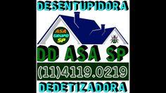 Desin7 sp 11 4119 0219 Desentope Dedetiza Grupo ASA