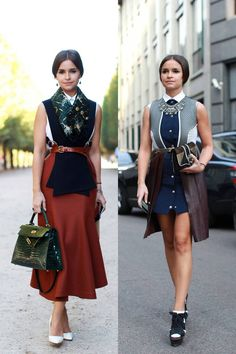 The Thirty Most Stylish People From Fashion Month.  Miroslava Duma, Buro 24/7