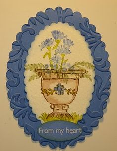 WC Decorative Urn (H2445) card by Dawn Knight