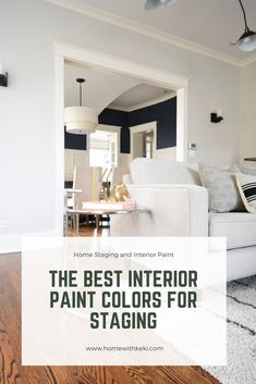 The Best White Paint Colors for Home Staging Indoor Paint Colors, White Wall Paint, Best White Paint, Paint Colors For Home, White Interior Paint, White Paint Colors, Paint Colors, Best Wall Colors, House Colors