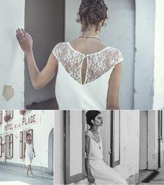 ©Laure de Sagazan - robes de mariee - collection civil 2014 - mariage- Le blog de Madame c #1