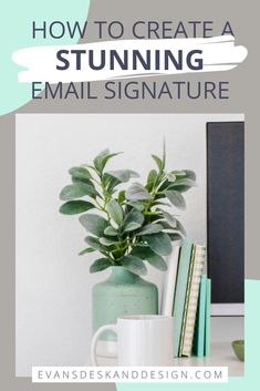 Professional Email Example, Professional Email Signature, Business Emails, Business Branding, Business Tips, Online Business From Home, Email Signatures, Web Design Tips