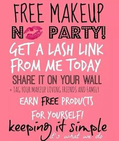 Who's in! ❤️#free #makeup #younique www.youniqueproducts.com/sarahrslashes