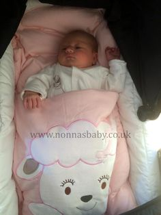 Baby Molly Loves Her Cotton Candy Nap Mat!!! Little Mollie was born on 9th January, and is all snug and cosy in her nap mat. Thanks to mum Bev for sending us this photo of her gorgeous little angel Molly! :-)