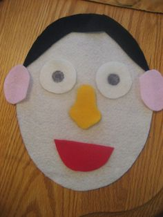Toddler Approved!: Felt Faces