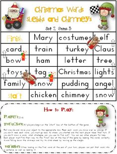 Easily print off your 28 page Christmas file with black and white cover page, 3 game levels for the various levels 12 games in total) in your classroom. Your file also has a teacher's vocabulary list, guide page with purpose of the resources and how to pages, and 4 record sheets for each set.