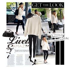 """""""Get The Look - Blake Lively"""" by lauraastyle ❤ liked on Polyvore featuring Ted Baker, La Garçonne Moderne and Sergio Rossi"""