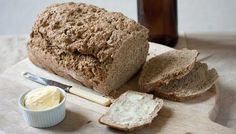 A simple wholemeal soda bread recipe laced with stout for extra flavour