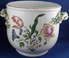 Rare 18thC Meissen Porcelain Flower Pot / Jadiniere Porzellan Blumentopf