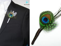 Peacock Feathers for Good Luck   Peacock Feather Headband: LittleBitsChic