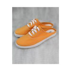 Vintage Orange Sneakers