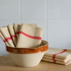 Heavy Antique Linen Towels
