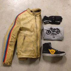 New arrivals CafeRacer Design at Store Valerisport!!! Jacket: Helstone  T-shirt: Motolife Shoes: Dainese  Gloves: Vintage  2015 news mfw vintage deluxe deusexmachina deuscafe concept #apsulecollection jacket gloves tshirt shoes dainese moto