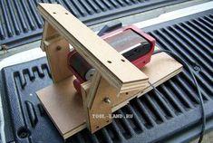 Самодельный станок для заточки из ленточной шлифовальной машины