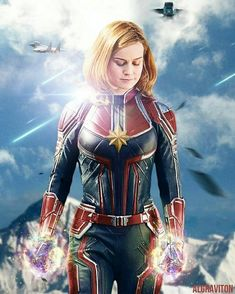Academy Award winner Brie Larson will play Captain Marvel in the upcoming Marvel Studios movie hitting theaters in March 2019 Marvel Comics, Ms Marvel, Marvel Avengers, Marvel Fanart, Heros Comics, Marvel Heroes, Marvel Characters, Avengers Movies, Captain Marvel Trailer