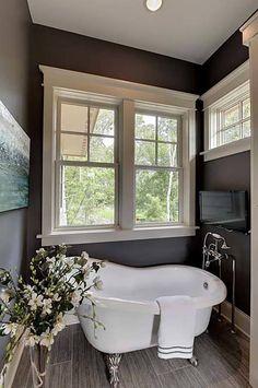 standalone bath love the tap design.