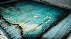 Decoupage Tutorial Transfer Image on Carved Wood - Μεταφορά εικόνας σε Ξ...