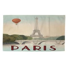 Thumbprintz City Skyline Paris Rug