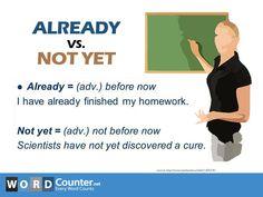 Already vs. Not Yet