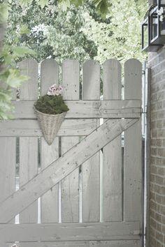 Gate to garden.....