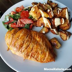 Soczysty filet z kurczaka a'la kebab - Mocne Kalorie Dinner Dishes, Dinner Recipes, Pork, Food And Drink, Cooking Recipes, Healthy, Breakfast, Ethnic Recipes, Knitting And Crocheting