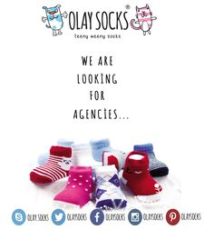 - we are looking for Agencies.. ‪#‎we‬ ‪#‎are‬ ‪#‎looking‬ ‪#‎for‬ ‪#‎agencies‬ ‪#‎olaysocks‬ ‪#‎socks‬ ‪#‎babysocks‬ ‪#‎newbornsocks‬ ‪#‎kidssocks‬ ‪#‎kids‬ ‪#‎baby‬ ‪#‎newborn‬ ‪#‎cotton‬ ‪#‎brand‬ ‪#‎makehappy‬ ‪#‎teenyweenysocks‬ ‪#‎worldsbrand‬ ‪#‎softsocks‬ ‪#‎organicsocks‬ ‪#‎bamboosocks‬ ‪#‎followus‬ ‪#‎follow‬ ‪#‎madeinquality‬ ‪#‎quality‬ ‪#‎goodquality‬ ‪#‎oleeeeey‬ ‪#‎happysocks‬ ‪#‎happyfeet‬ www.olaysocks.com