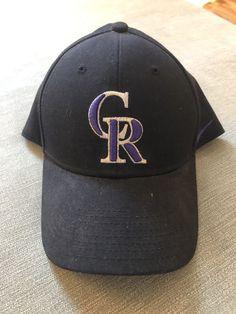 f5953526b0db0 Nike Dri Fit Colorado Rockies Adjustable Hat Black Purple  fashion   clothing  shoes