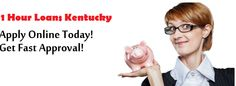 The best available way for you to get funds in emergency is applying with the service of 1 hour loan Kentucky. They are easy loan plan that will assist the borrowers by providing them quick money juts in a short notice of the time. Get applied for it in order to overcome your any sort of trouble without facing any delay.