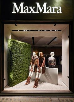 MaxMara: Pre-Fall, Bond Street, London By www.chameleonvisual.com