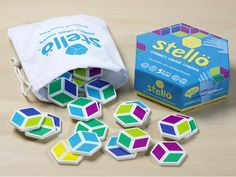 Stellö Color-Matching Tile Game — Möbi | The Grommet® Music For Kids, Games For Kids, Games To Play, Family Party Games, Family Game Night, Rubix Cube Games, Unique Gifts For Boys, Pnp Games, Pick Your Battles