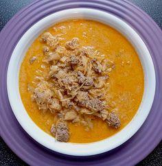 Schnelle Sauerkrautsuppe, ein schönes Rezept aus der Kategorie Gemüse. Bewertungen: 14. Durchschnitt: Ø 3,8.