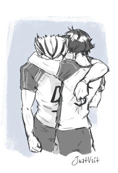 justvritart:Because Akaashi is the only one that can make Bokuto comes out of his dejected modes