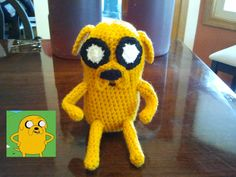 Jake from Adventure Time.  Some needs to make this for me!