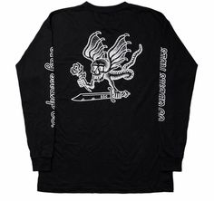 Deceiving Devil L/S Tee @staysharpco  Shop link in bio  #streetwear #longsleeve #devil #black