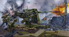 Defending the homeland German 88 flack plus anti-tank gun. May have been best weapon of WWII in its category. Military Weapons, Military Art, Military History, German Soldiers Ww2, German Army, Wold Of Tanks, Military Drawings, Ww2 Posters, Germany Ww2