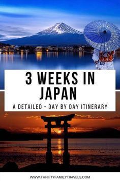 The Ultimate (and detailed) 3 Week Japan Itinerary with Kids Planning a Japan family holiday? Then check out our 3 week Japan iterinary with kids. It sets out where to go each day, hotels and how to get around. Japan Travel Guide, Asia Travel, Travel Guides, Travel Info, Wanderlust Travel, Cool Places To Visit, Places To Travel, Travel Destinations, Rome