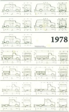 Габаритные размеры Форд Транзит 1978 (dimensions Transit Mk2) Transit Camper, Ford Transit, Rat Look, Mini Bus, Expedition Vehicle, Car Sketch, Car Ford, Ford Motor Company, Shops