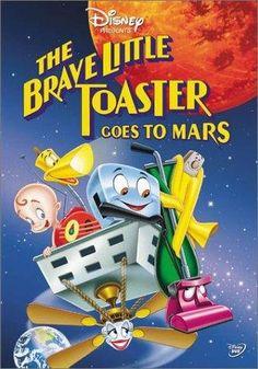 Farrah Fawcett & Brian Doyle-Murray & Robert C. Ramirez-The Brave Little Toaster Goes to Mars Brian Doyle Murray, Mars Movies, 2018 Movies, Brave Little Toaster, Cartoon Online, Disney Presents, Watch Cartoons, Farrah Fawcett, Tumblr Funny