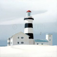Dallas Smith Artist -fresh contemporary realism in art Dallas Smith, Realism Art, Lighthouses, Sea, Contemporary, Illustrations, Art, The Ocean, Ocean