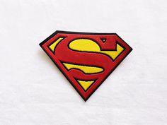 1x Superman patch Comics Super Hero S Iron by DIYcreativesupplies