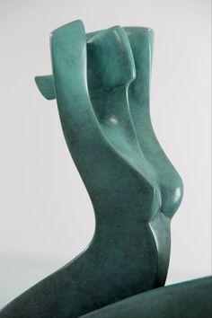 Annette Jalilova - Yse, Bronze Sculpture For Sale at Human Sculpture, Stone Sculpture, Sculpture Clay, Sculpture Garden, Bronze Sculpture For Sale, Sculptures For Sale, Wire Sculptures, Xavier Veilhan, Ceramic Sculpture Figurative