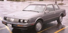 1985 Oldsmobile Cutlass Ciera ...Ours was champagne color