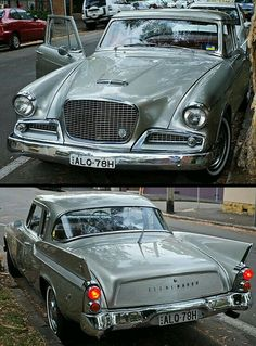 1957 - Studebaker Golden Hawk Maintenance of old vehicles: the material for new cogs/casters/gears/pads could be cast polyamide which I (Cast polyamide) can produce Cars Usa, Us Cars, Vintage Cars, Antique Cars, Automobile Companies, American Classic Cars, Fiat 500, Collector Cars, Old Trucks