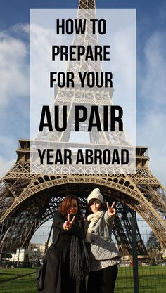 To help you to prepare as much as possible for your Au Pair year abroad in the hopes that I can make this move a little easier for you, which brings good...