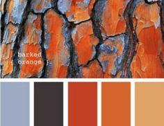 colour palette with dark orange - Google Search