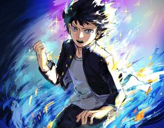 My favorite 100% Shigeo :-) Sometimes just looking at him can make me feel encouraged.  I'm not s