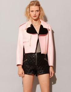 Patent heart biker jacket
